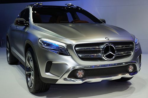 Mercedes Concept GLA at the 30th Thailand International Motor Expo 2013