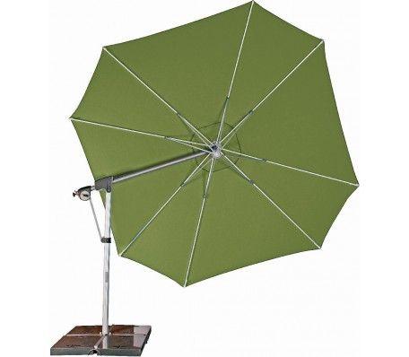 Zweefparasol protect 400 P smaragd groen