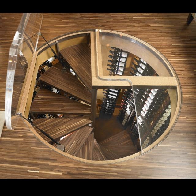 25 best ideas about modern wine cellar products on - Wine cellar trap door ...