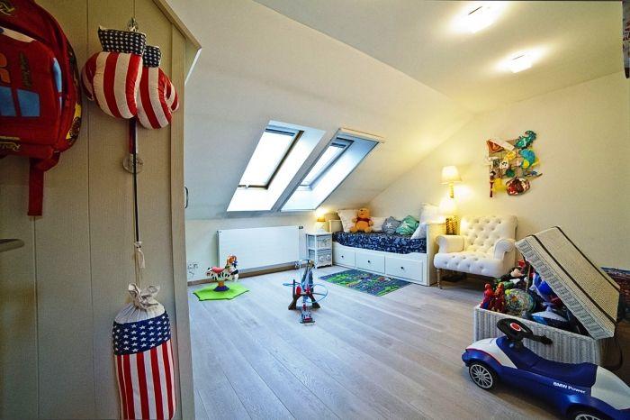 детская комната, четырехкомнатная квартира на продажу, район Ружинов, Братислава, Словакия.