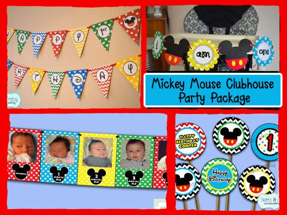 Hey, I found this really awesome Etsy listing at https://www.etsy.com/listing/191932212/mickey-mouse-clubhouse-first-birthday