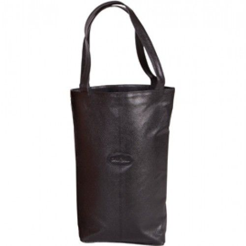 Carlo Rossini 345 Soft Leather Bottle Carrier