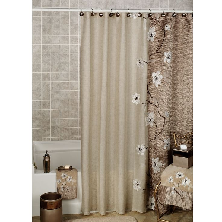 Bathroom Window And Shower Curtain Sets