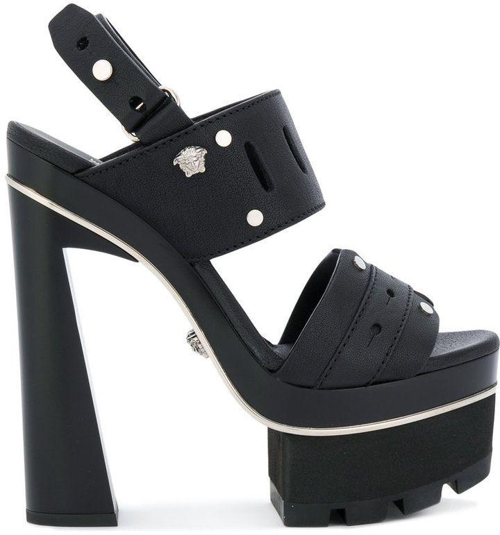 7bd2368a569 Versace platorm strap sandals