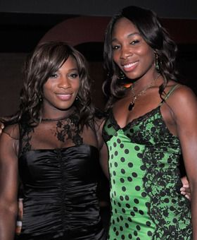 In Pictures: The Best-Dressed Athletes -   Venus and Serena Williams  Tennis players