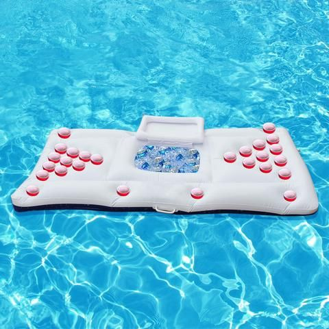 Inflatable Beer Pong Pool Float