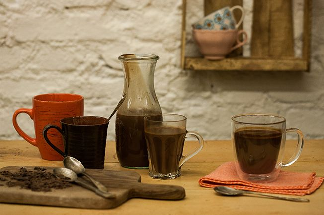 Chocolate quente - Panelinha