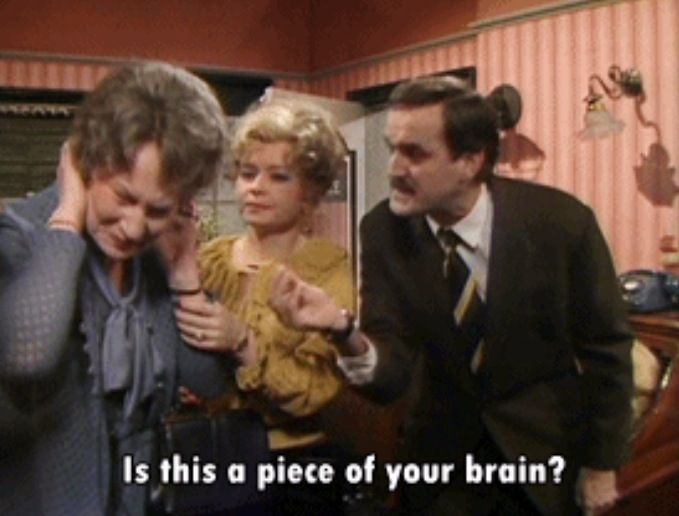 My favourite Fawlty towers quote