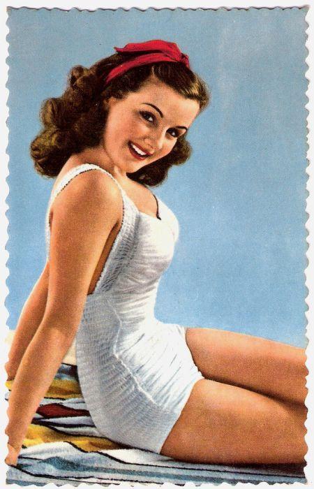 maillots de bain des annees 40 et 50 33   Maillots de bain des années 40 et 50   vintage pin up photo maillot de bain image années 50 années 40