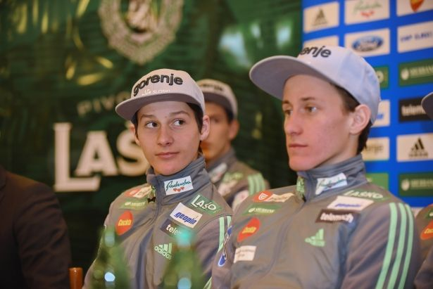 Peter Prevc's jounger brother Domen Prevc. With only 16 years old he already started to competing in Ski jumping world cup, following his brothers footsteps #DomenPrevc #PeterPrevc #PeterPrevcSkiJumper #Planica #PlanicaNordicCenter #NordicCenterPlanica #KranjskaGora #SkiJumpingWorldCup #Slovenia #WinterSports (Photo from ekipa24.si)