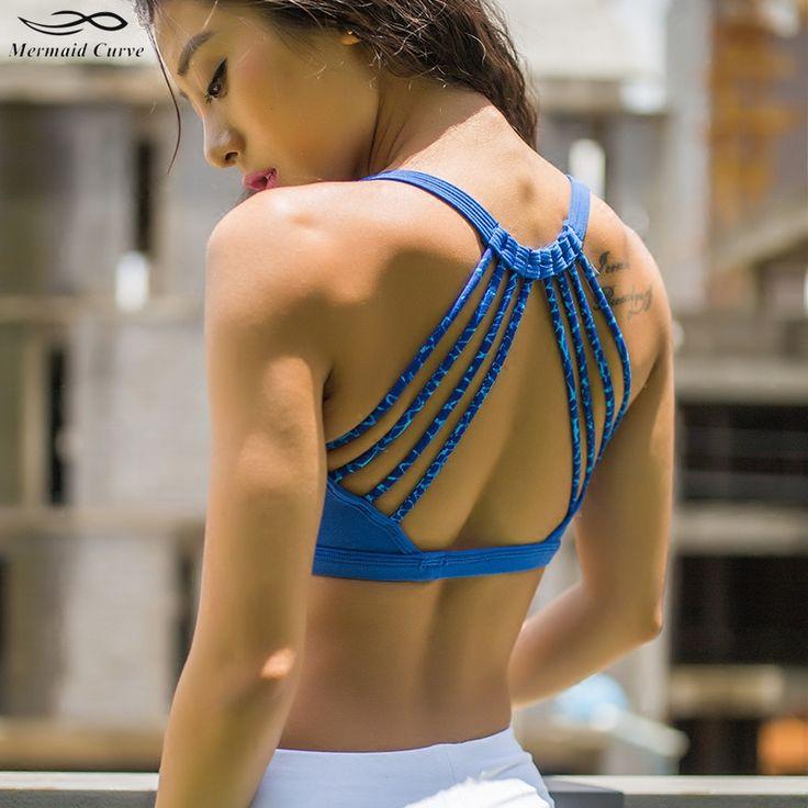 Mermaid Curve Gym...  http://omnidragondevelopment.com/products/mermaid-curve-gym-fitness-professional-women-sports-bra-push-up-bras-padded-exercise-yoga-camouflage-strap-sexy-back-ladies-bras?utm_campaign=social_autopilot&utm_source=pin&utm_medium=pin