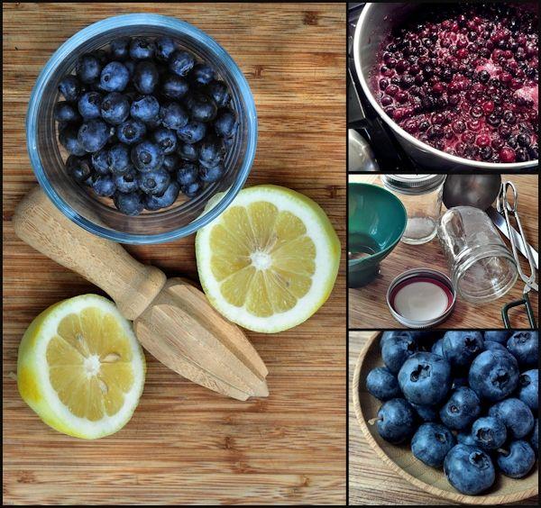 Blueberry Preserves {no pectin recipe}   The Creekside Cook