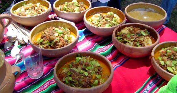 Recetas de comida Boliviana: Habas Pejtu para 4 personas