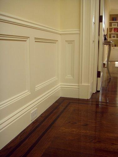 25 beste idee n over houten lambrisering decor op pinterest muur decor ambachten fotolijst - Lambrisering lijstwerk ...