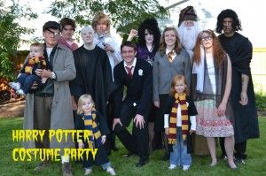 Harry Potter costume party. This is the list to help you plan your own. It has links to labels, posters, and all sorts of other party helps.