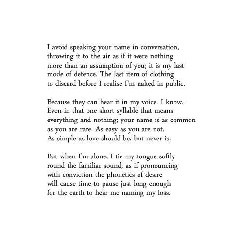 """""""A Hundred Ways To Say Your Name"""" - Tania De Rozario"""