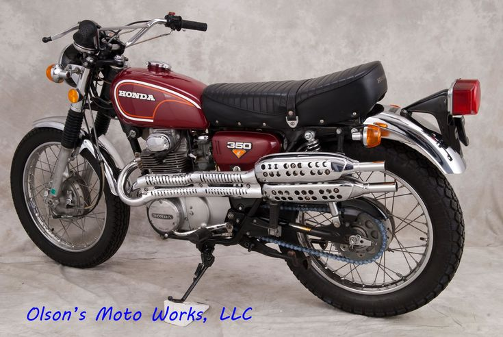 73 honda cl350 | my very first street bike. And I had an electric starter. C