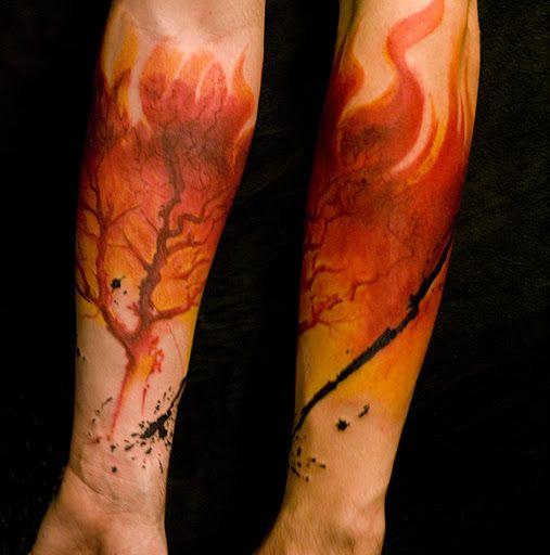 66 best images about fire tattoos on pinterest hearts on fire anklet bracelet and fire dancer. Black Bedroom Furniture Sets. Home Design Ideas