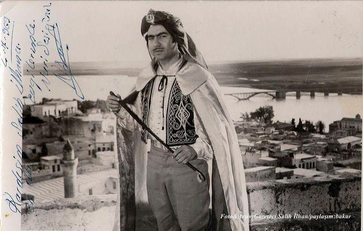Kurdish famous Nuri Sesigüzel northern Kurdistan, Urfa (Urava), Birecik (Biro-Chik, Birê-Chûk) 1969