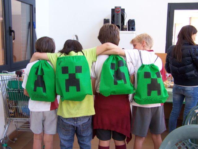 "Photo 17 of 71: Minecraft Birthday Party / Birthday ""Minecraft Party"" | Catch My Party"