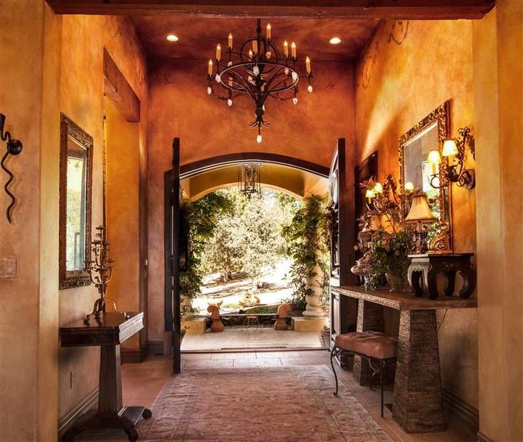 Need some foyer design inspiration? Check out this beautiful collection of Mediterranean foyer ideas for a stunning entrance to your home