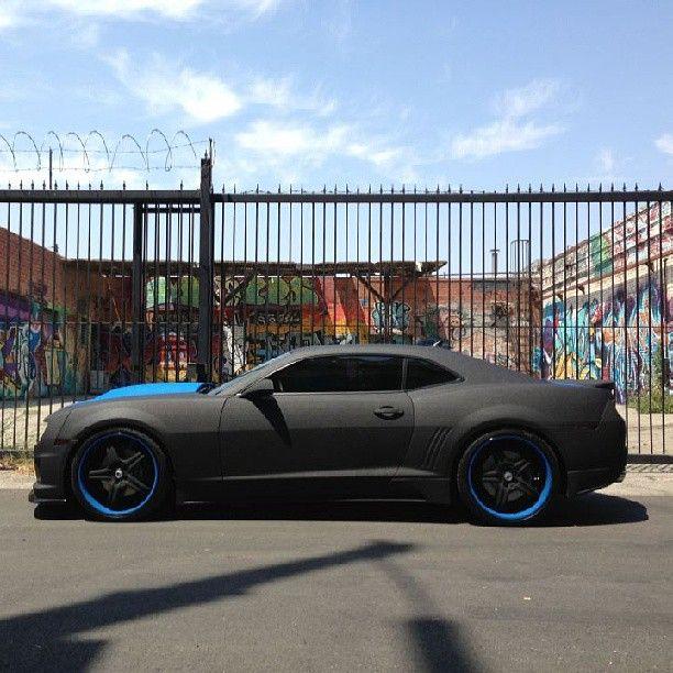Mean looking Chevy Camaro