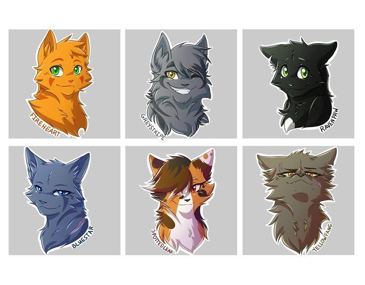 картинки коты-воители герои всей