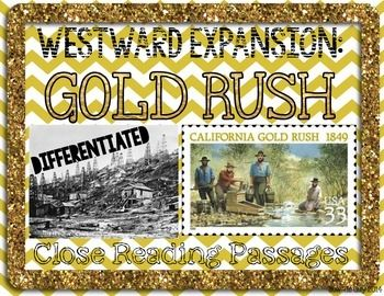Westward Expansion Gold Rush