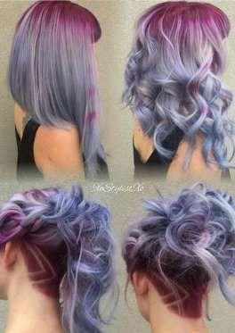 Con cabello largo o corto funciona este look. - actitudfem.com