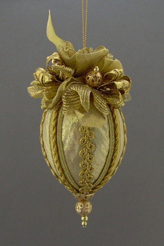 victorian beaded ornaments | ... Turrets Handmade Victorian Style Beaded Velvet Christmas Ornament Ball