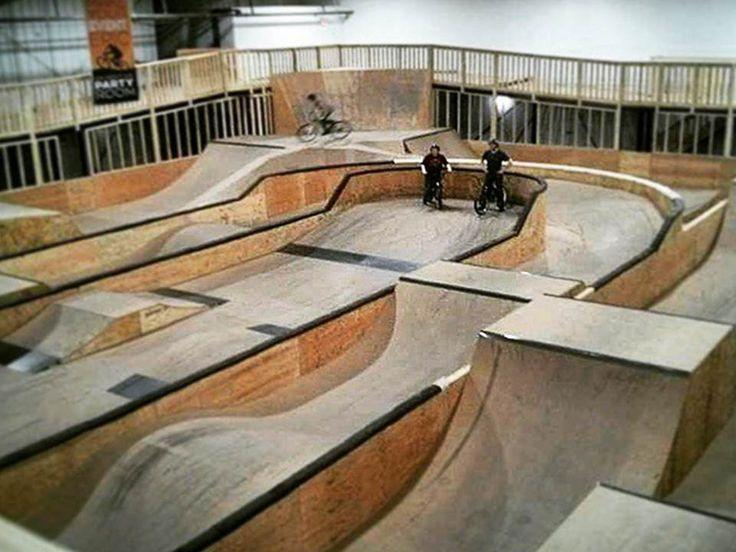 Epic Indoor Bike Park | Foam Pit, Pump track, Jump line, XC track