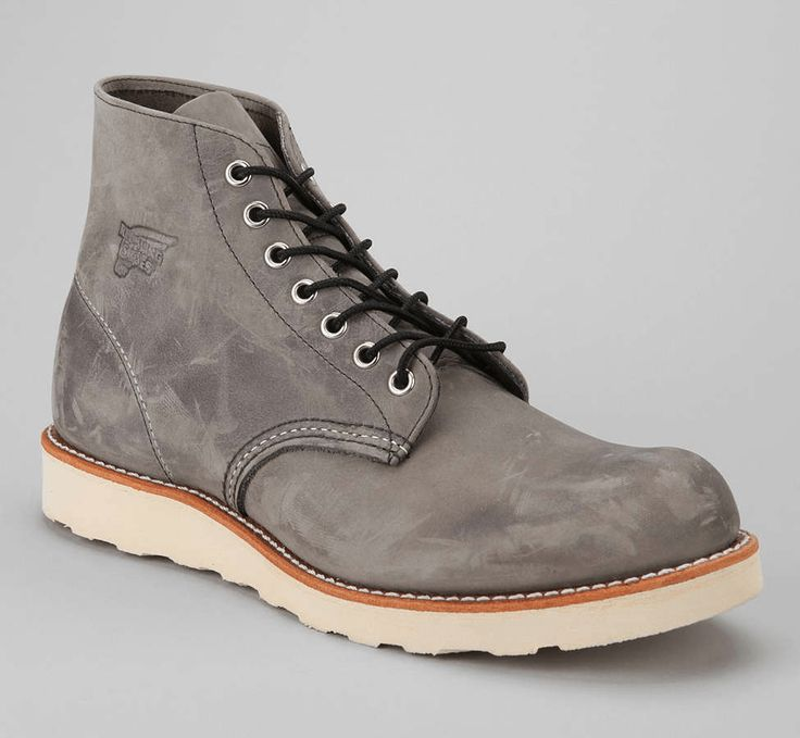 Red Wing Made In USA 6″ Classic Round Toe Boot 8152 Reg. Price: $260. Today: $219.99 http://www.thesalescout.com/red-wing-boots-sale/