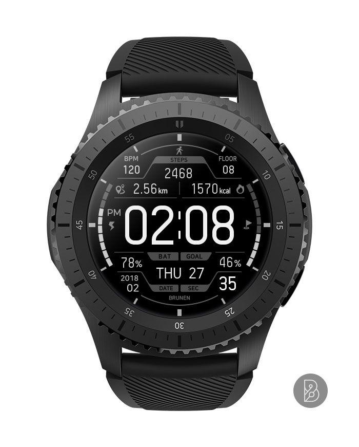 Best Gear S3 Watch Faces 2019 NEXON   Watch face for Samsung Gear S3 / S2. Watchface by Brunen