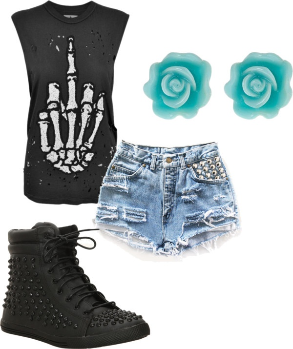 """Warped Tour Outfit"" by alysia24 on Polyvore"