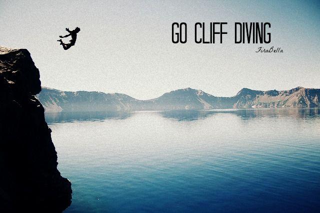 Go Cliff Diving