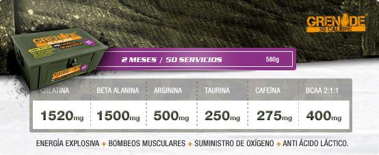 Grenade .50 suplemento Pré-treino premiado na Europa! Muito TOP! www.mundodossuplementos.com