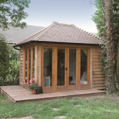 1000 images about oak framed buildings on pinterest for Oak garden office