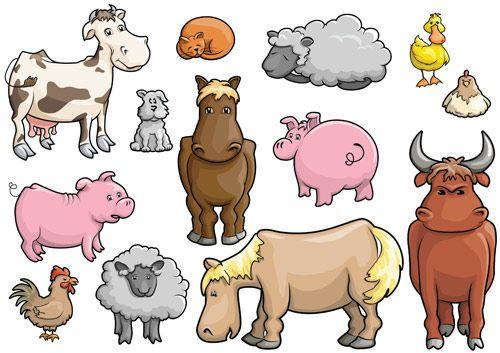 Recursos para trabajar los animales de la granja. Educación Infantil.