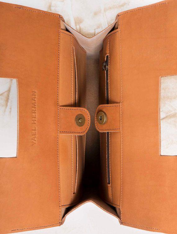 Woman leather bag Black handbag Elegant bag by YaelHerman on Etsy