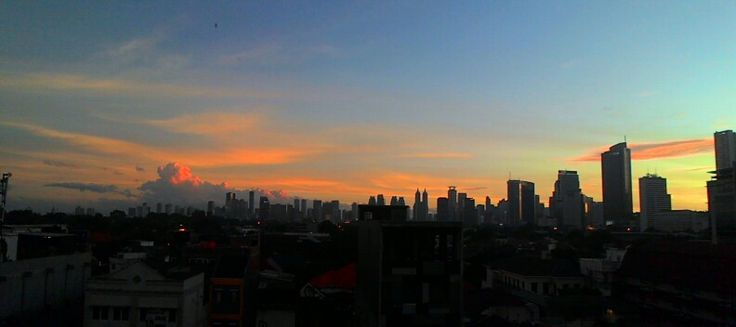 "I ♥JKT ||  ""...morning view by asus zen4hone """