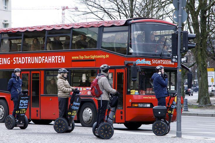 ღღ Berlin, Germany - Berlin sightseeing II Photographer's Note: It is always important to choose the appropriate means of transportation when you start a sightseeing tour.  Berlin, Brandenburger Gater