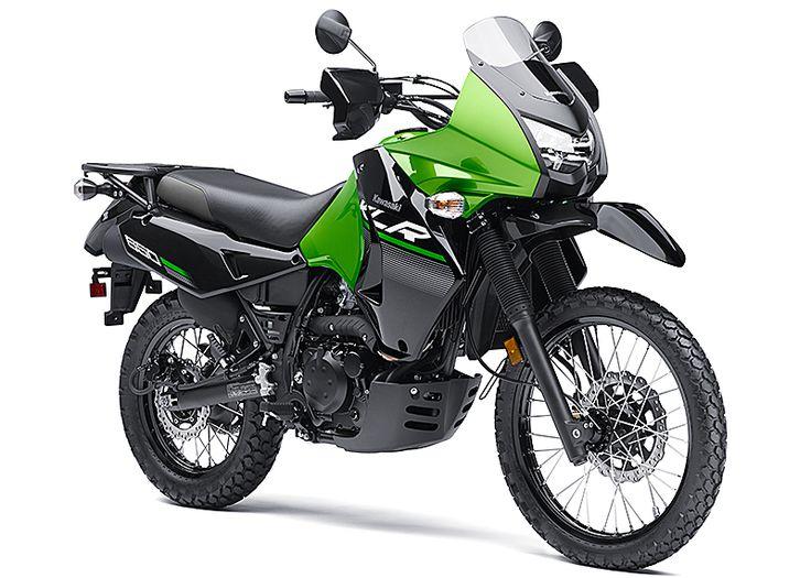 2014 Kawasaki KLR650 New Edition First Look Review