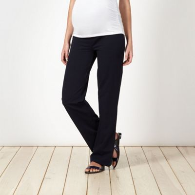 Red Herring Maternity Navy jersey maternity lounge trousers- at Debenhams.com