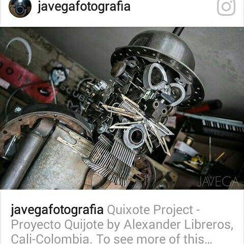 Proyecto Quijote Sin soldadura Hugo Alexander Libreros Mayor Cali Colombia