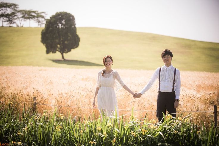 Korea Prewedding Photoshoot at Olympic Park | Korea Wedding Photography by LeanSnap on OneThreeOneFour 0