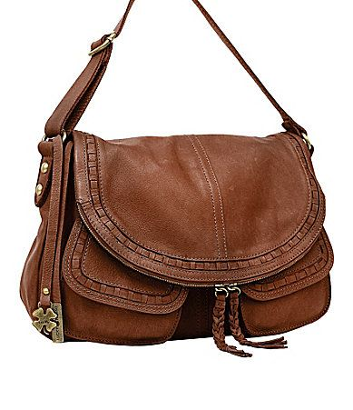 Lucky Brand Modesto Stash Flap Saddle Bag #Dillards