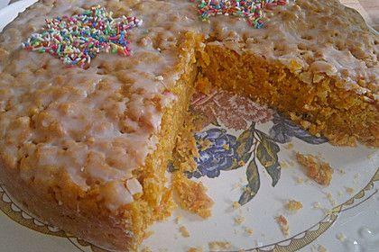 Karotten-Zitronen-Kuchen (Rezept mit Bild) von Somson | Chefkoch.de