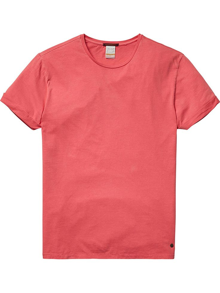 Scotch & Soda - Roll-Up Sleeved T-Shirt