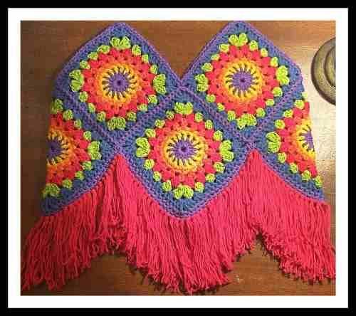 Top-bikini Boho Chic Con Flecos - Forrada - Tejida A Crochet - $ 400,00