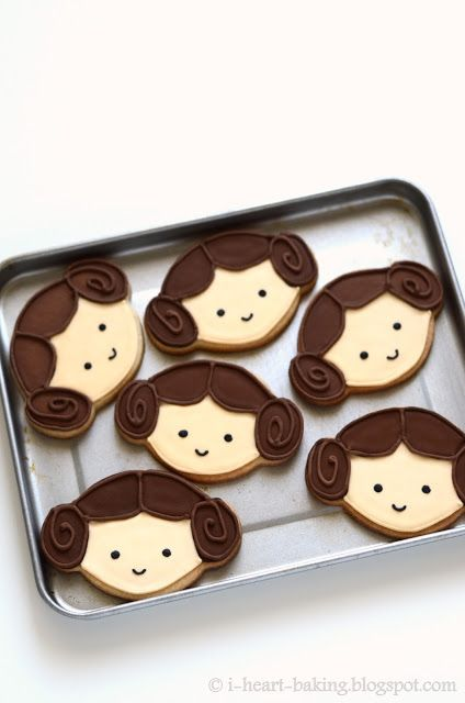 Galletas de Princesa Leia